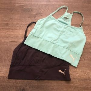 Puma sports bras- Size M- lot of 2